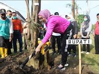 Peringati Hari Tanam Pohon Sedunia, Purwakarta Gelar Mitembeyan Tanam Pohon Lame