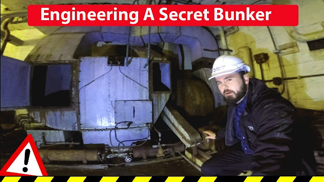 Engineering a Top Secret WW2 bunker industrial engineering ventilation hvac