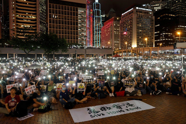 China's threat, if the situation in Hong Kong is not under control, we will not remain silent