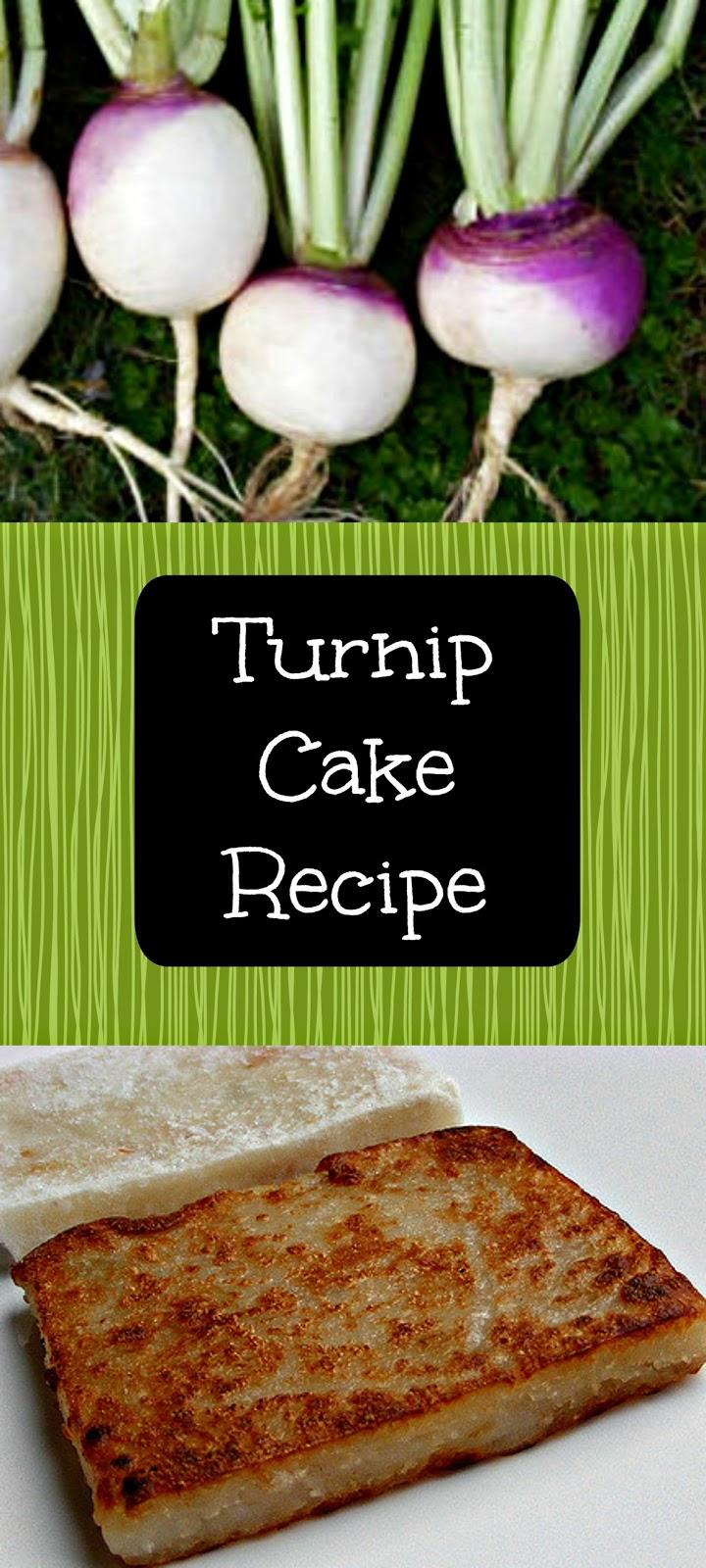 The Smoothie Vegetarians Recipe Turnip Cake