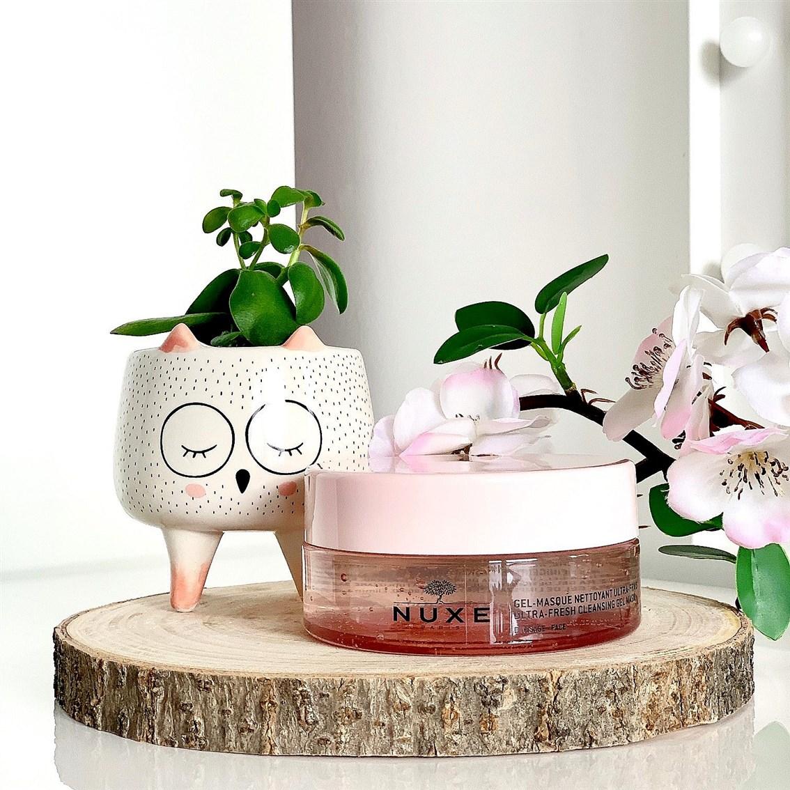 Nuxe Very Rose Ultraświeża żelowa maska oczyszczająca