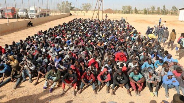 ONU denuncia grave situación de migrantes y refugiados en Libia