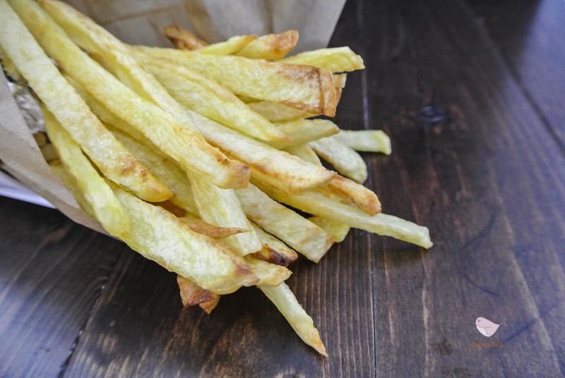 patatas fritas horno