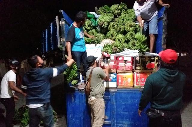Polisi tangkap satu truk penuh miras, kelabui petugas pakai pisang