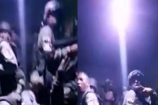 VIDEO.- Como locos gritando Sicarios del CJNG se graban dentro de Camión Monstruo yendo hacia el matadero a enfrentar a Cárteles Unidos en Michoacán