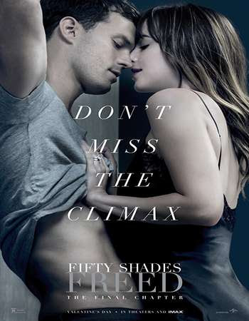 Poster Of Fifty Shades Freed 2018 In Hindi Bluray 1080P HEVC Free Download