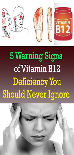 5 Warning Signs of Vitamin B12 Deficiency You Should Never Ignore #FOODANDDRINKS