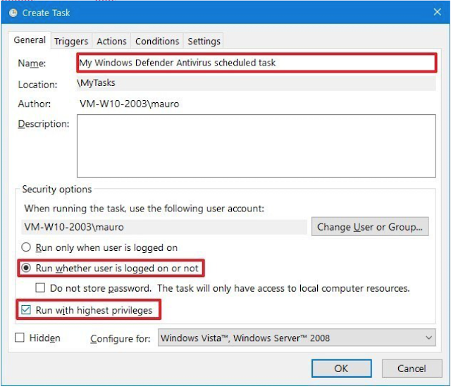 Cara Membuat Penjadwalan Scan Windows Defender Pada Windows 10