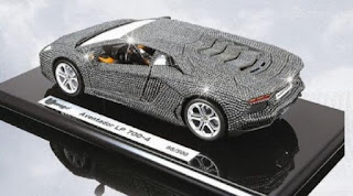 Lamborghini Aventador Model Car