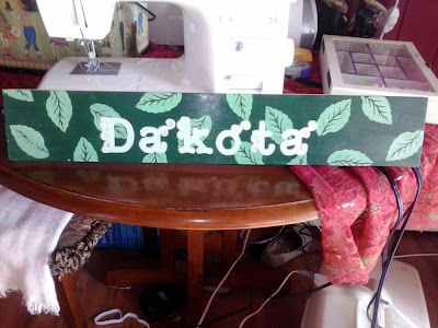 DIY Junkie: Name Board - Boy's Room