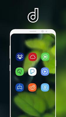 تنزيل Delux UX - S8 Icon Pack APK + Mod
