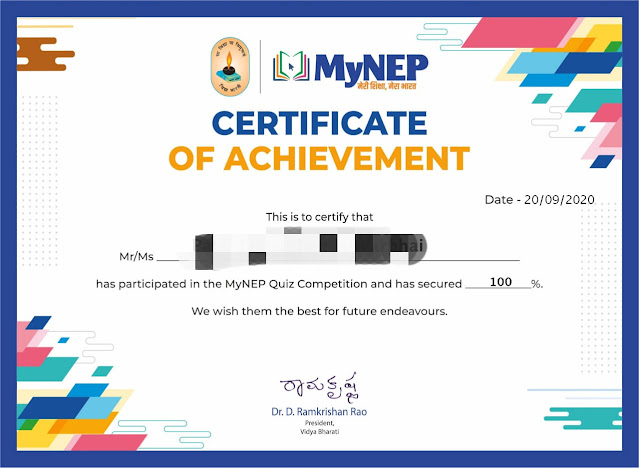 How to register and get Certificate in myNEP - Useful for Teachers