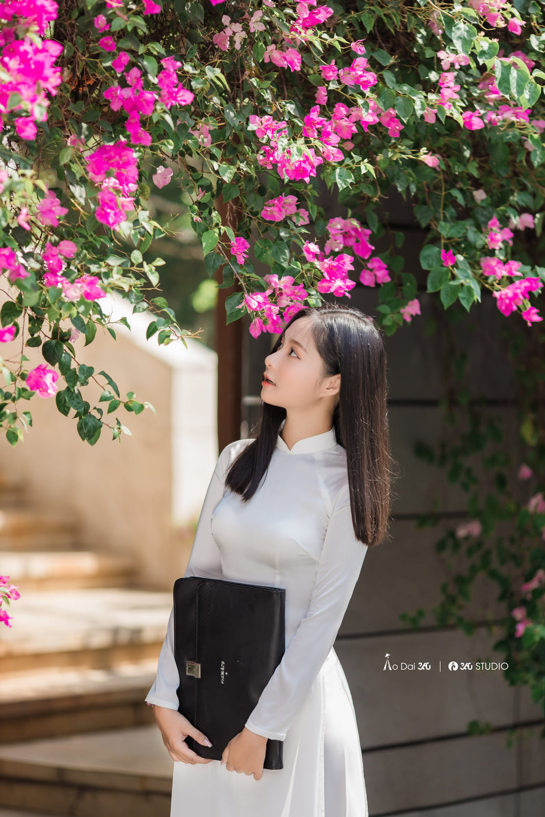 Tuyển tập girl xinh gái đẹp Việt Nam mặc áo dài đẹp mê hồn #57 - 24