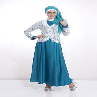 model baju gamis untuk orang gemuk