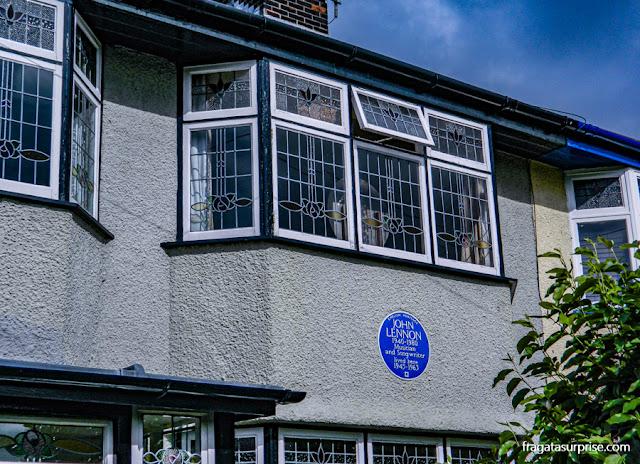 Mendips, a casa de John Lennon em Liverpool