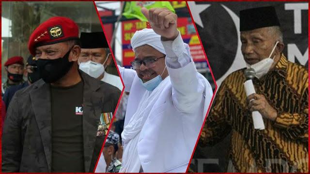 Poros Baru Politik: Amien Rais, Petinggi KAMI dan Habib Rizieq Bertemu