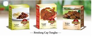 Rendang Cap Tungku, Bekal Praktis ke Luar Negeri