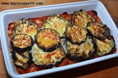Gratin d'aubergines | Eggplant gratin