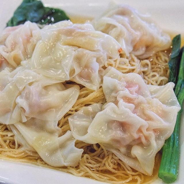 Jumbo Shrimp Wanton Noodle