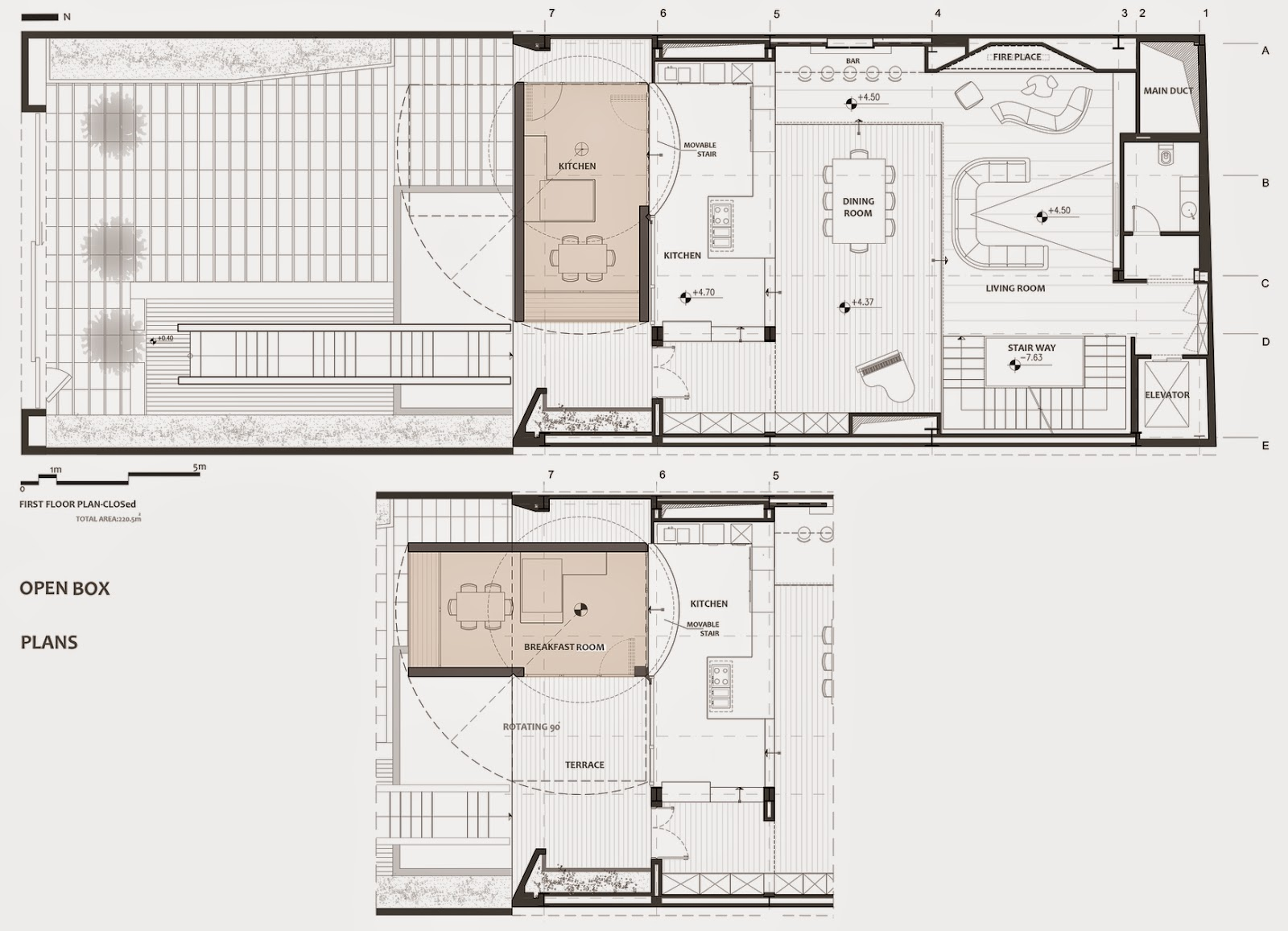 09-Plans-First-Floor-Plan-Section-Nextoffice-Sharifi-Ha-House-Revolving-Rooms-Architecture-www-designstack-co