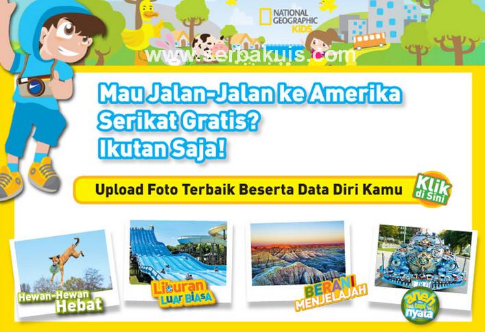 Kontes Foto Anak 2014 Berhadiah Jalan-Jalan ke Amerika Serikat GRATIS!