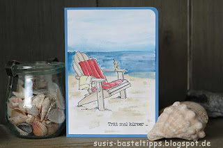 beach chair card