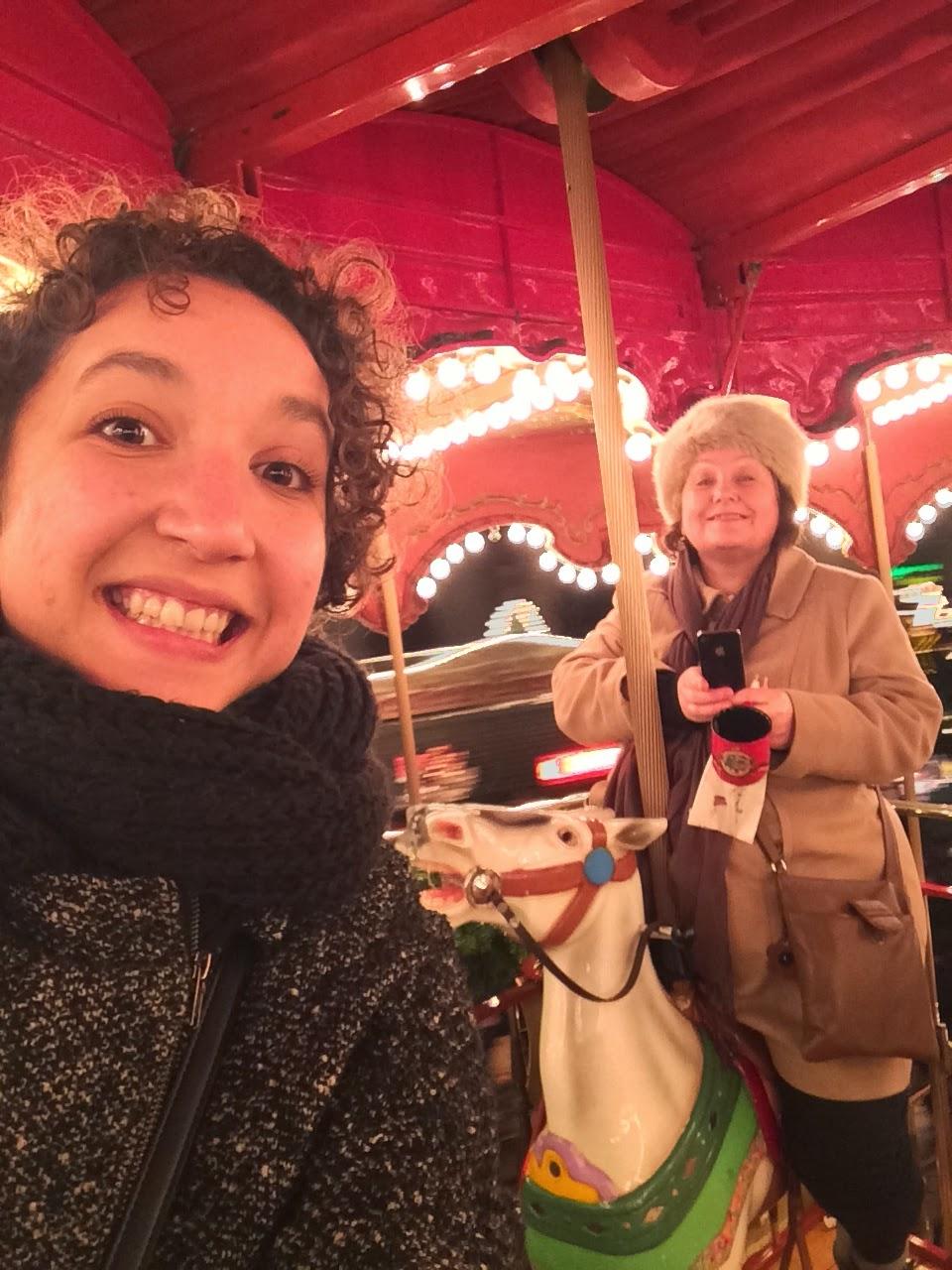 frankfurt christmas market carousel