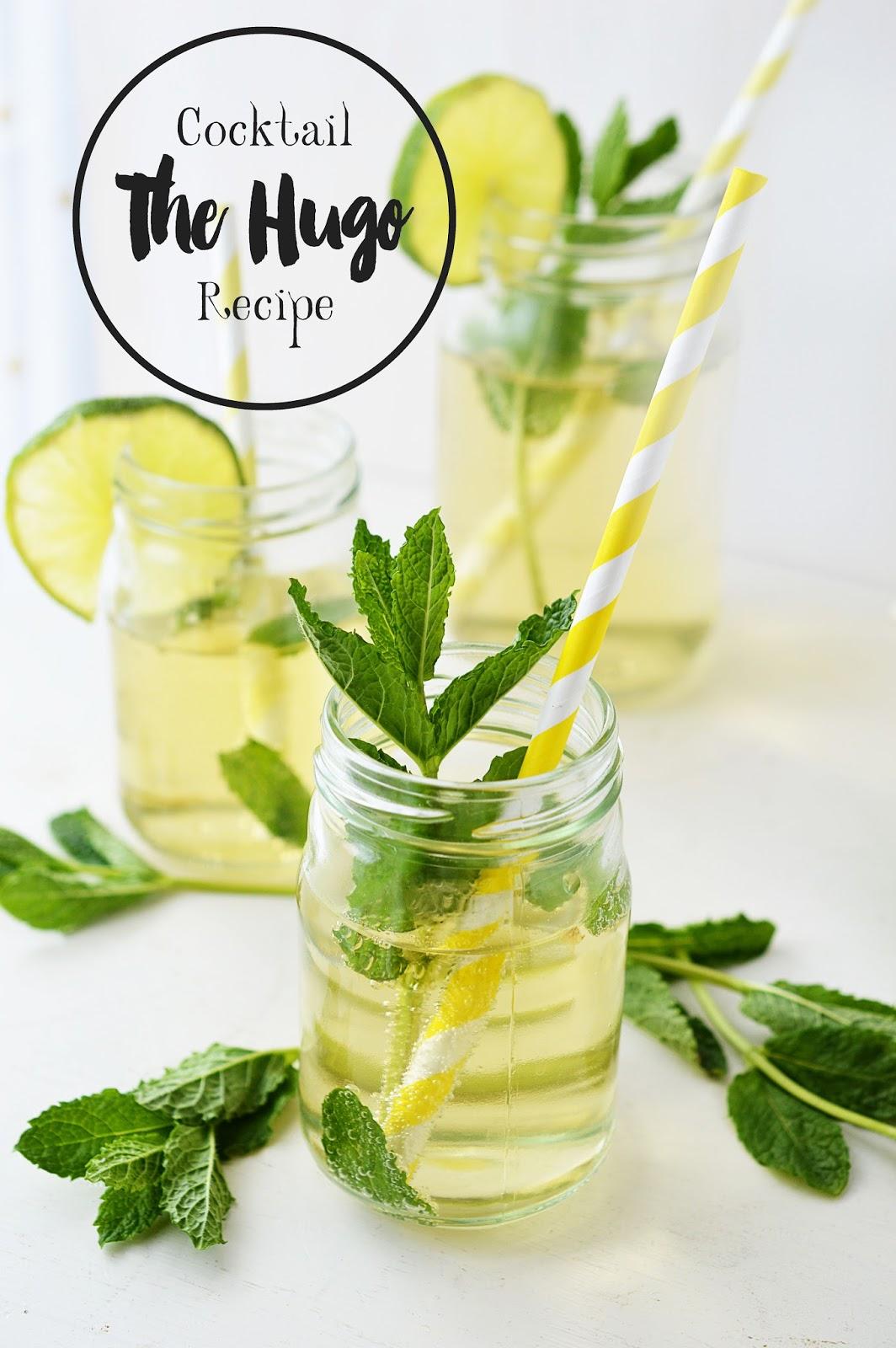 Best Summer Cocktail Recipe | THE HUGO