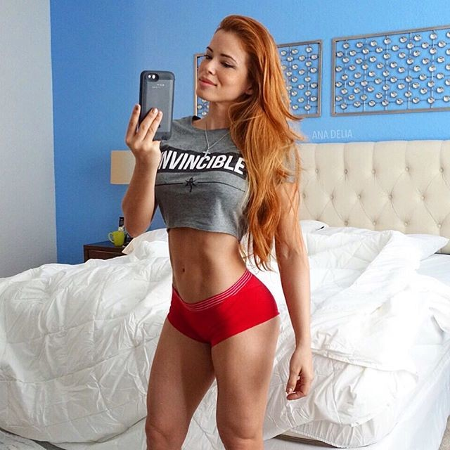 Fitness Model Ana Delia De Iturrondo photos
