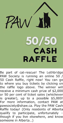 PLAY THE PAW SOCIETY ONLINE CASH RAFFLE!