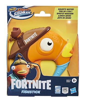NERF Super Soaker : Fornite - Fishstick (Palito de Pescado) : Pistola de Agua | Hasbro 2020 | JUGUETE DEL VIDEOJUEGO