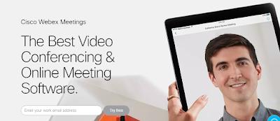 cisco webex best video conferencing