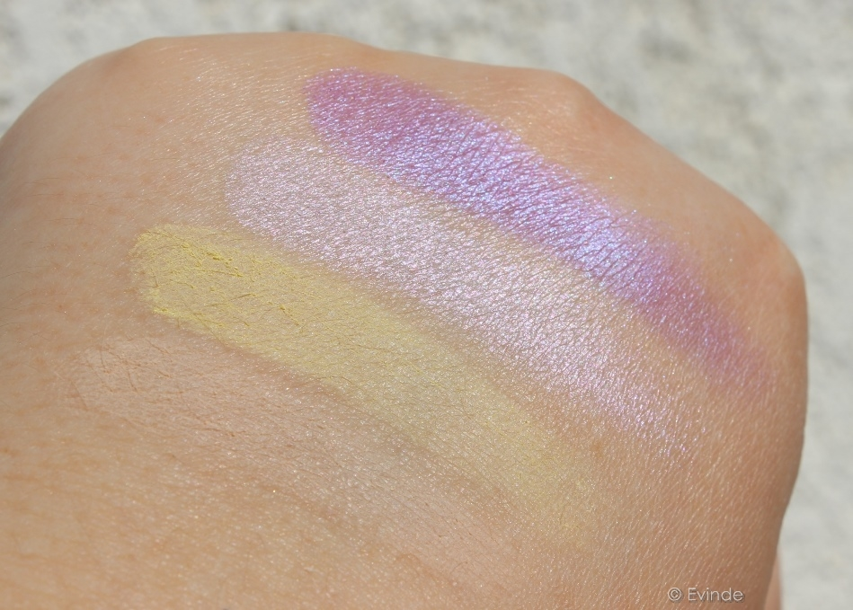 avon luminosity palette swatch