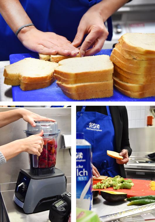 Frühstücks-Workshop mit Molkerei Weihenstephan