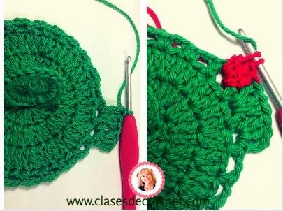 frutas crochet