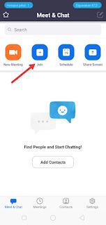 Cara Menggunakan Aplikasi Zoom Meeting di Android