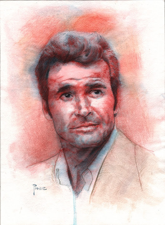 James Garner - Inktense Pencils