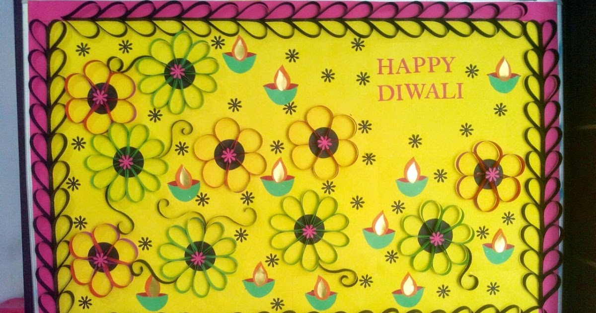 Images Of Board Decoration For Diwali Bestchristmasgifts Co