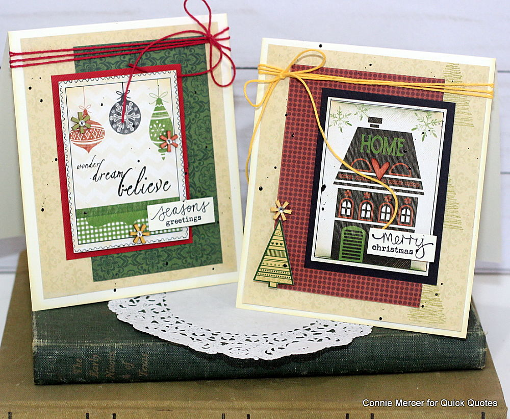 Crafty Goodies Making Christmas Cards Special With Quick Quotes