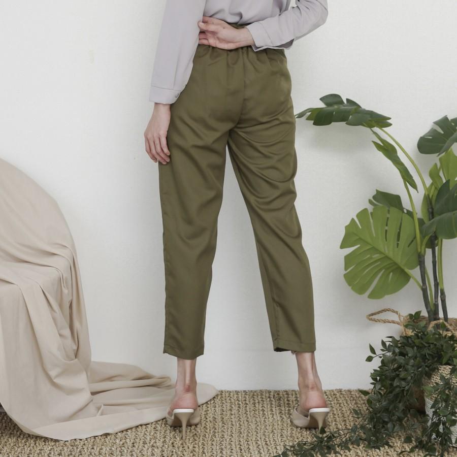 Wulfi Celana Utuh Tadung Ribbon Chinos Pants Army