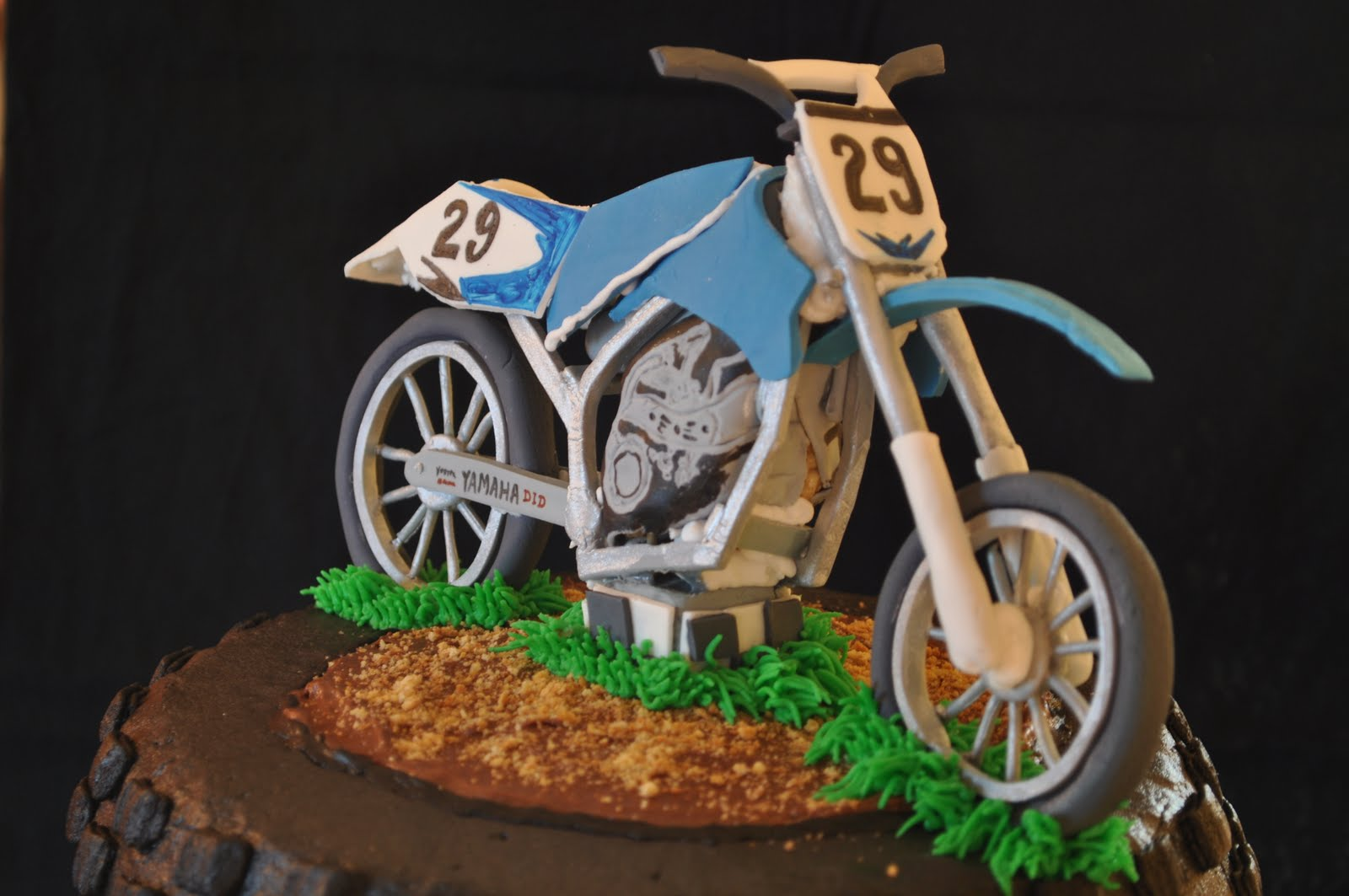 motorbike template for cake - gracie cakes july 2011