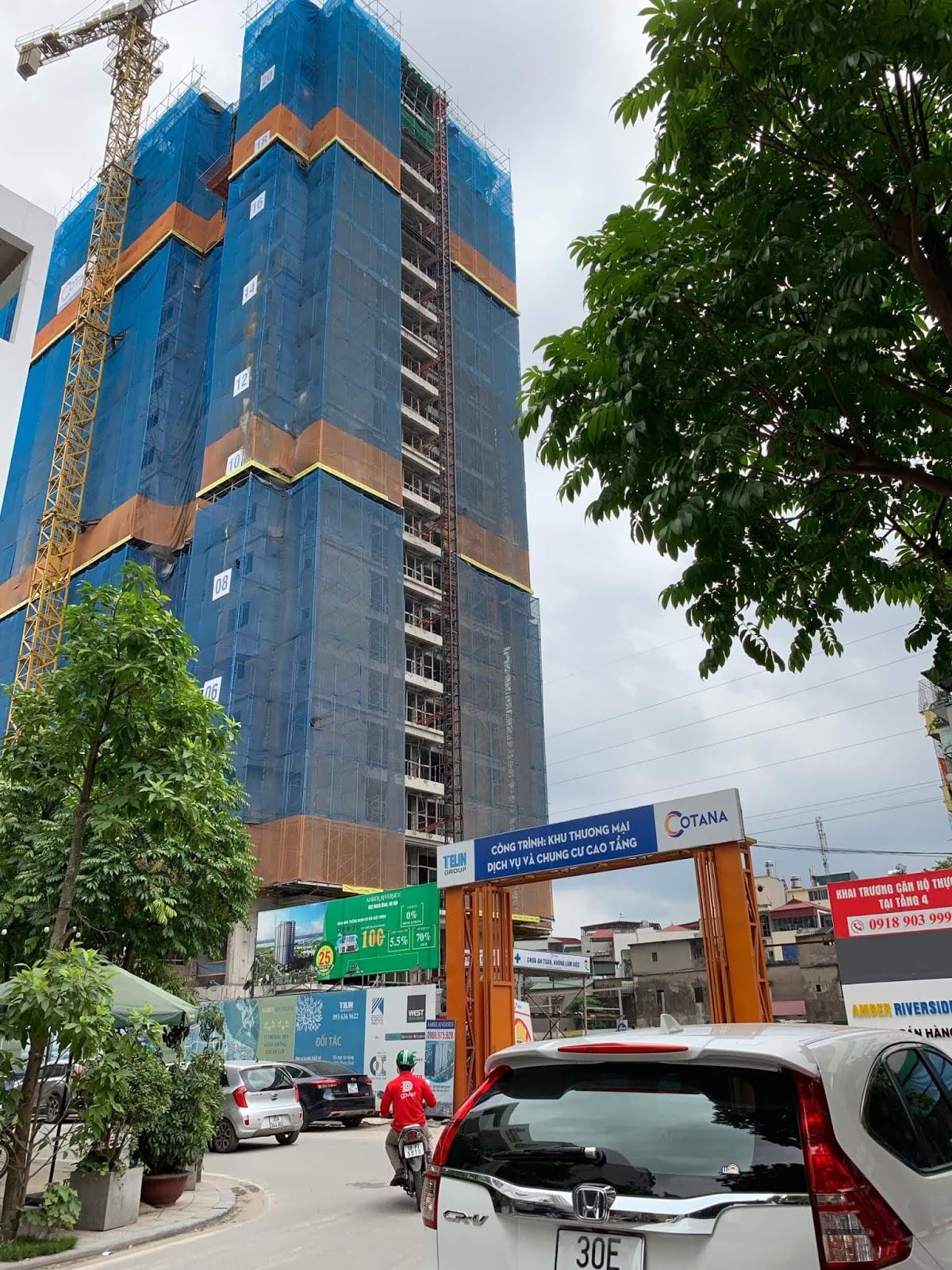 Tiến độ xây dựng chung cư 622 Minh Khai