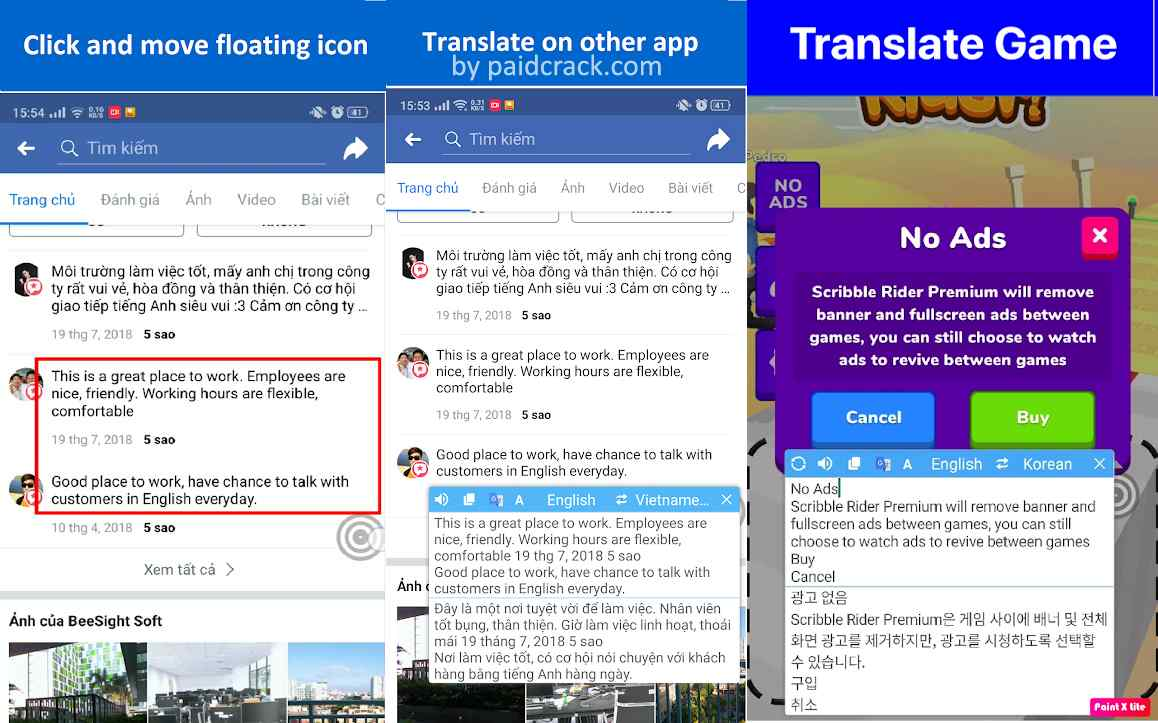 Translate On Screen Premium Mod Apk 1.91