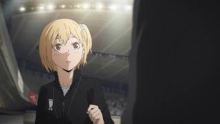 Hellominju.com : ハイキュー!! アニメ 4期 烏野高校 マネージャー  谷地 仁花(CV:諸星すみれ ) | Hitoka Yachi  |  Haikyuu!! Karasuno High Manager | Hello Anime !