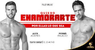 QUIERO ENAMORARTE   Teatro Santa Fe POS2