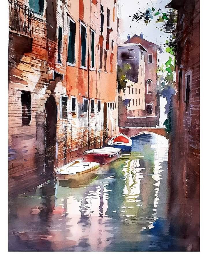 08-The-canal-Paintings-Milind-Mulick-www-designstack-co