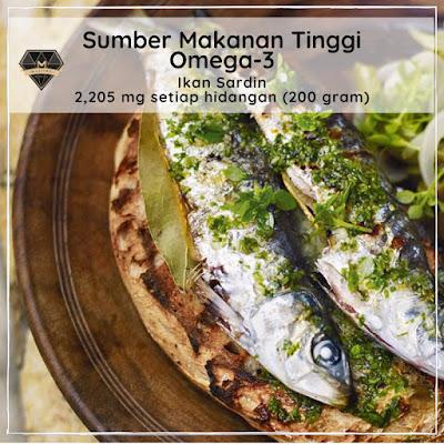 Sumber Makanan Tinggi Omega - 3