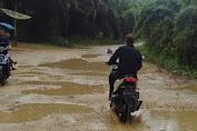 Jalan Lintas Longkib Menuju Subulussalam Tambah Parah