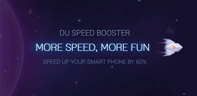 DU Speed Booster App