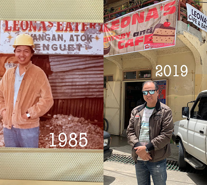 Guy duplicates Sagada road trip 34 years apart